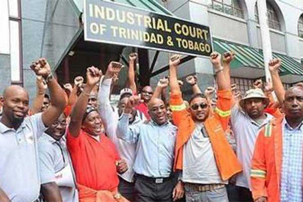 travailleurs d'ArcelorMittal à Trinidad