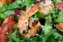Repas à base de fruits de mer...