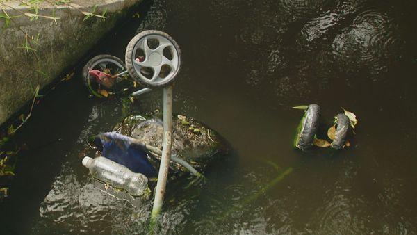 Mont Dore arroyo déchets
