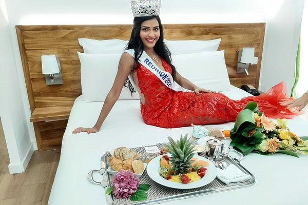 Dana Virin, miss Réunion 2021.