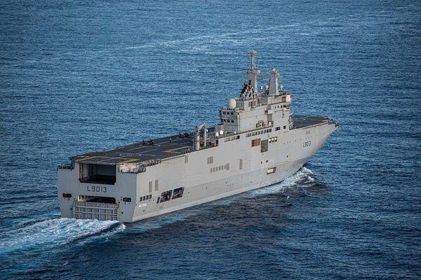 Arrivée du porte-hélicoptère Mistral demain à La Réunion