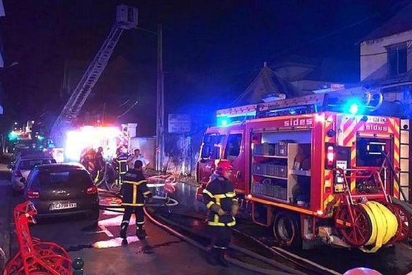 Incendie Rue Labourdonnais 25 juillet 2019