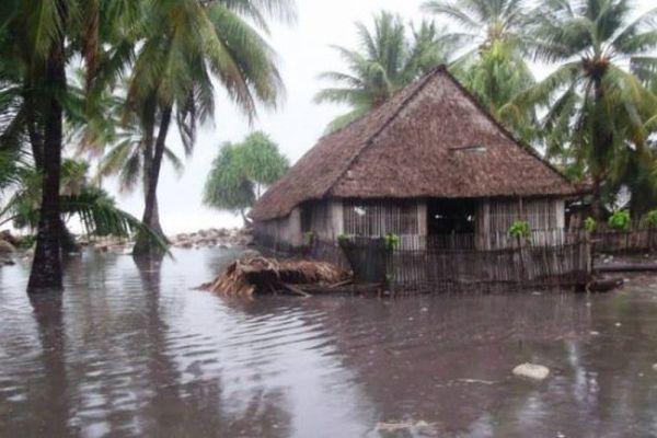 montée des eaux kiribati