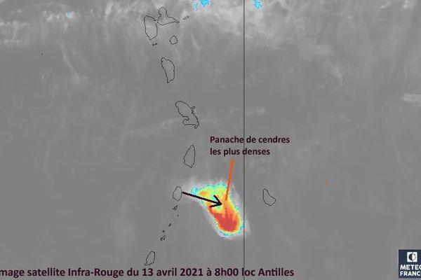 Image satellite Saint-Vincent