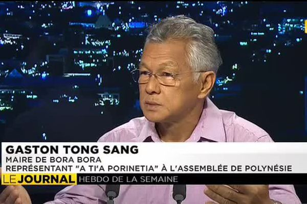 Gaston Tong Sang était l'invité du journal de ce dimanche