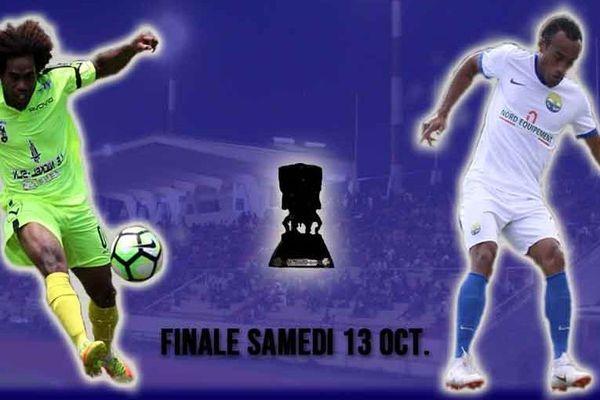 L'affiche de la finale de la coupe de Calédonie de football 2018