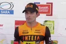 Daniel Bonilla gagne la 4e étape du Tour de la Guadeloupe (26 octobre 2021).