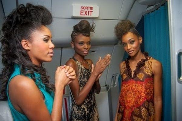 Défilé sur vol Air-Caraïbes (1)