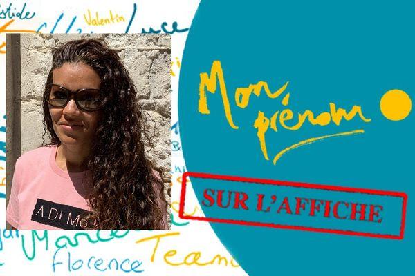 Mon prénom sur l'affiche : Marielle