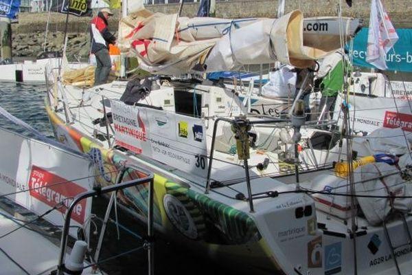 Le bateau d'Eric Baray