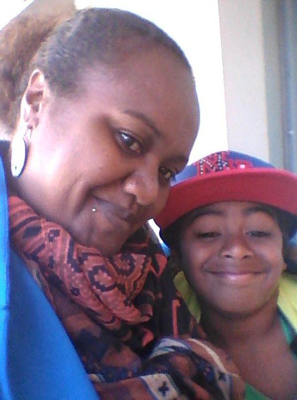 Marie-Noëlle Bome et son fils Joe