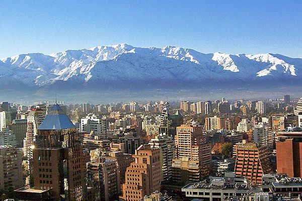 La secousse a été ressentie à Santiago du Chili