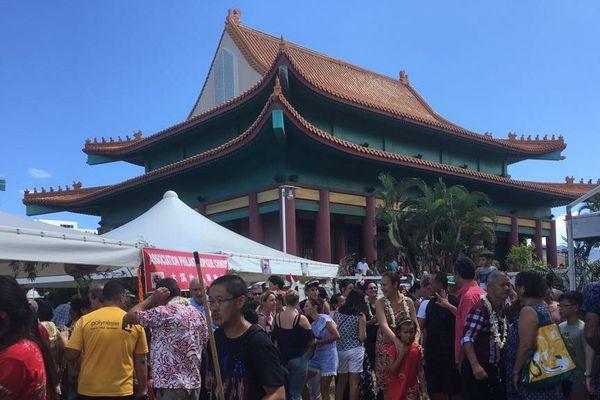 Nouvel an chinois au temple Kanti de mama'o