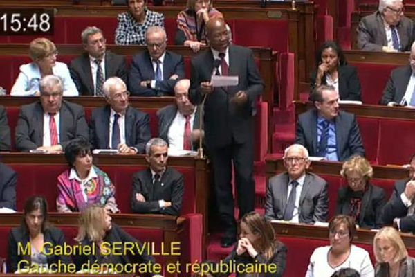 Gabriel Serville à l'Assemblée nationale