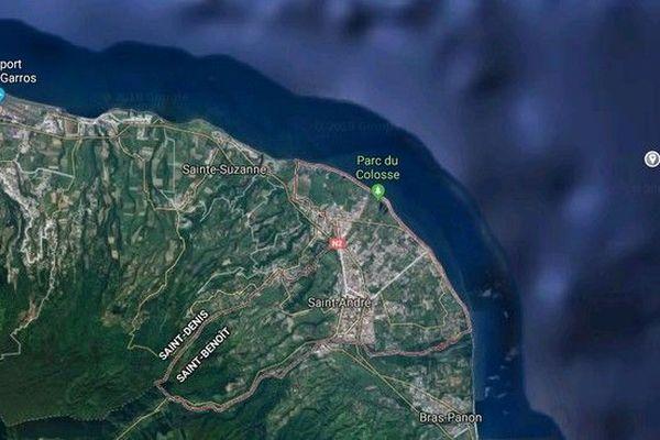 Carte Saint-André