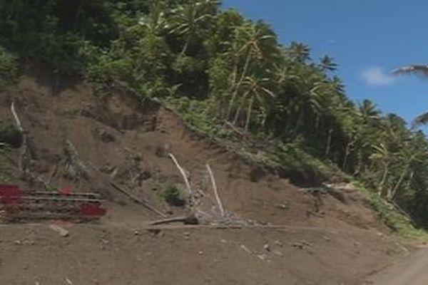 Futuna: les chantiers avancent difficilement pour manque de matériaux