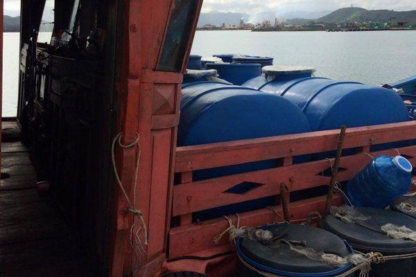 pêche illégale Bateau vietnamien