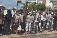 Habitants de Martinique à fort-de-France.