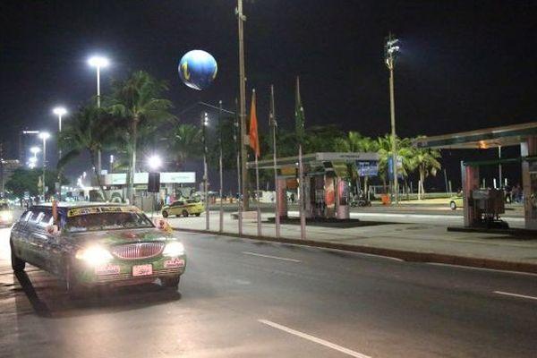 Voiture supporter de l'Equateur