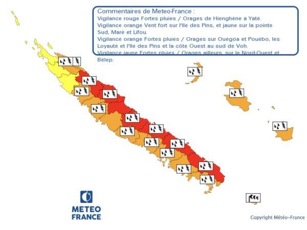 Carte vigilance météo 20 avril 2020
