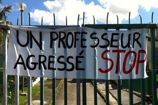 Agression collège Martinique