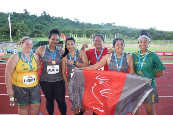 Athlétisme championnat de Mélanésie