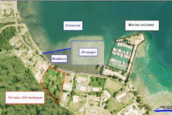 Pourquoi le cluster maritime est favorable à l'extension de la marina de Vaiare