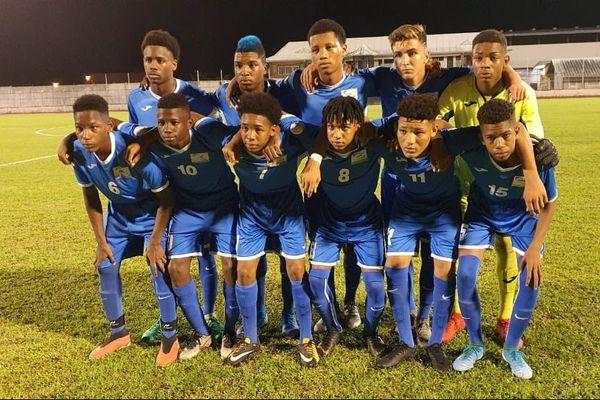Les U15 de la Martinique tournoi Claude Elise 2019