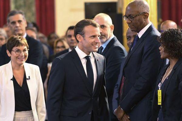 Macron et Girardin