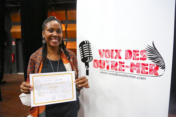 Finale nationale Voix des Outre-Mer Véronika Nugent