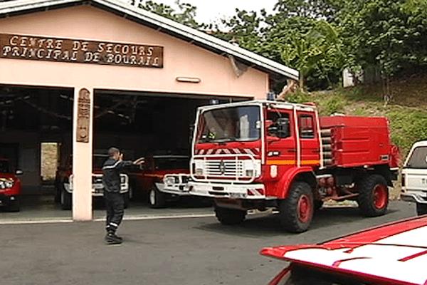 Pompiers à Bourail