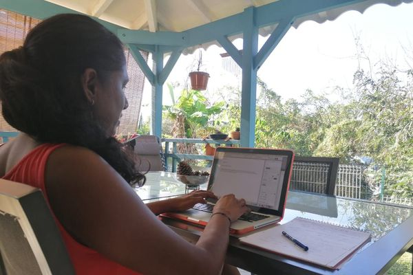 Estelle Virassamy, journaliste à France-Antilles Guadeloupe.