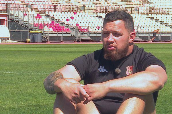 Rugby : Teva Make, le pilier de Narbonne, arrête sa carrière professionnelle