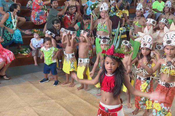 tahaa / école bilingue / enfants Heiva