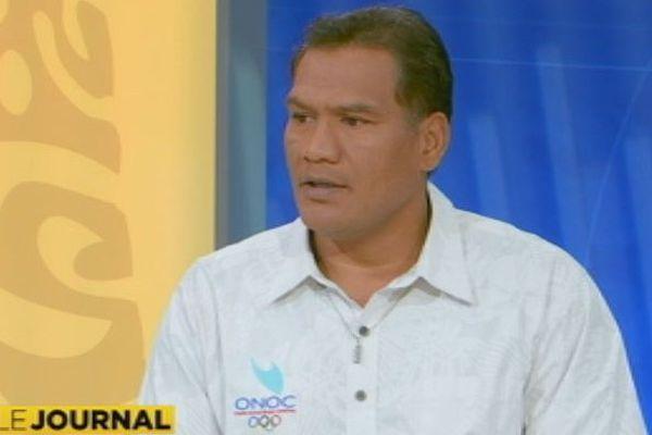 Tauhiti Nena était l'invité du journal
