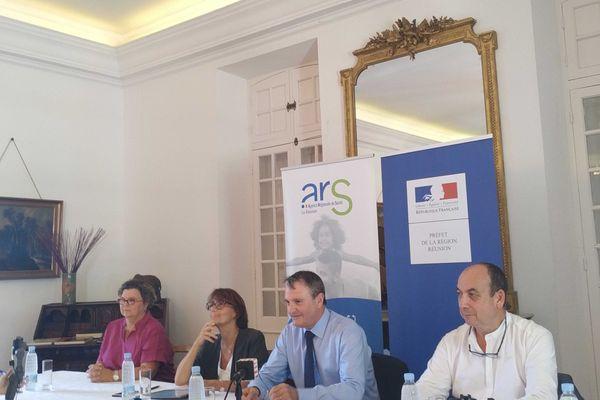 Conférence de presse de la préfecture et de l'ARS Coronavirus