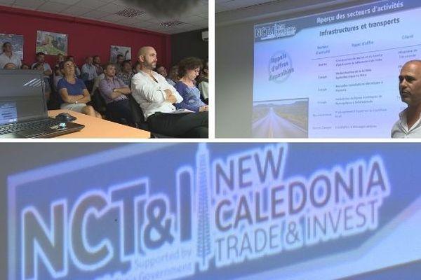 NCTI Cluster commerce Fidji