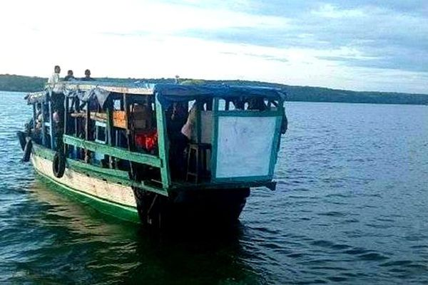 Bateau malgache coulé avril 2019