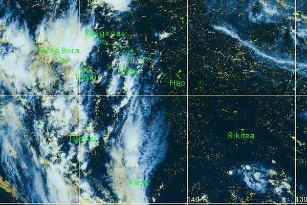 Les risques d'orages persistent sur la Société et une partie des Australes