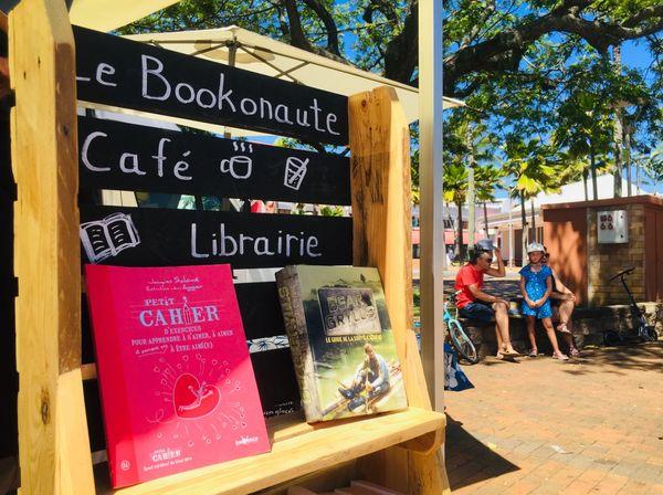 Bookonaute, café librairie mobile, 1er novembre, Nouméa