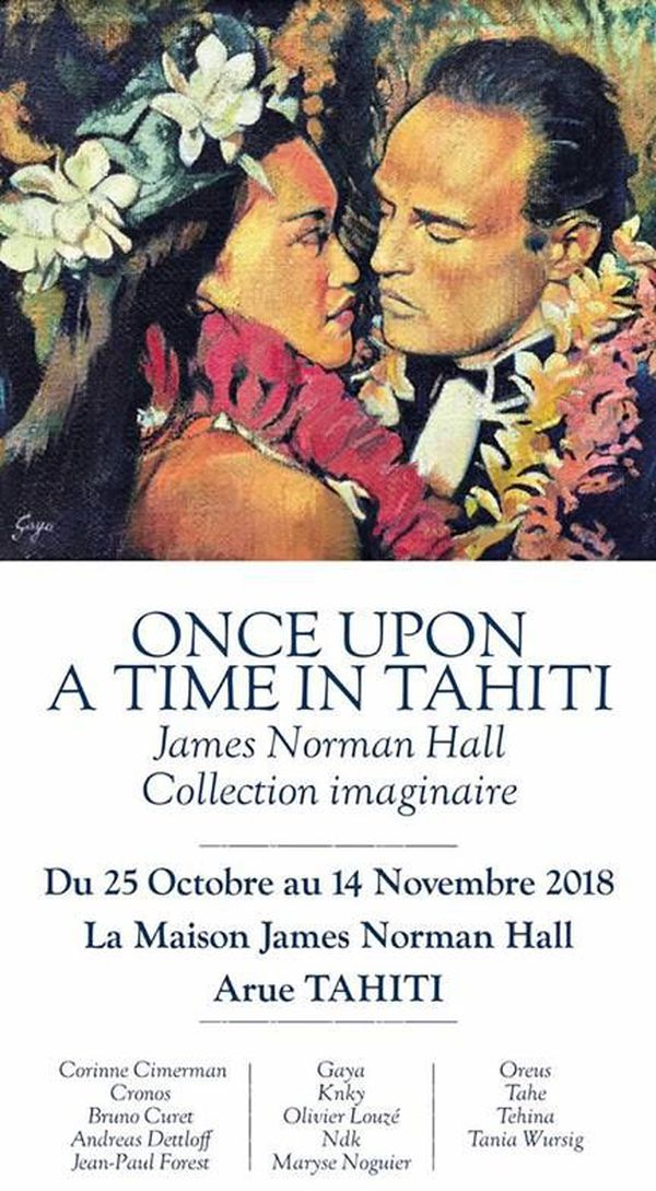 Affiche Once upon a time in Tahiti