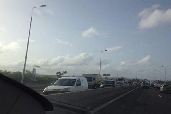 Blocage autoroute
