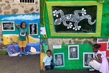 Exposition de l'école maternelle de Pont Viard