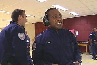Henri Drowa, élève commissaire de police