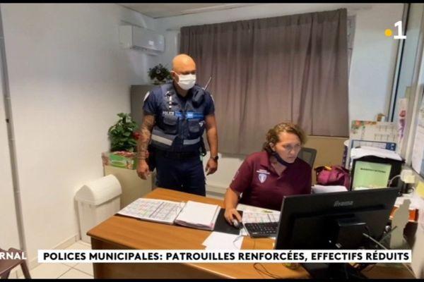 Les policiers municipaux touchés par la Covid-19