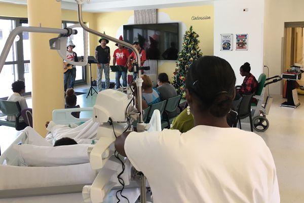 Noël des enfants malades au Médipôle (25 décembre 2017)
