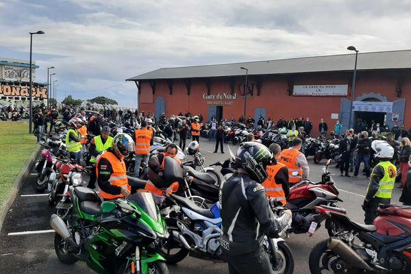 Manifestation des motards contre le contrôle technique 3