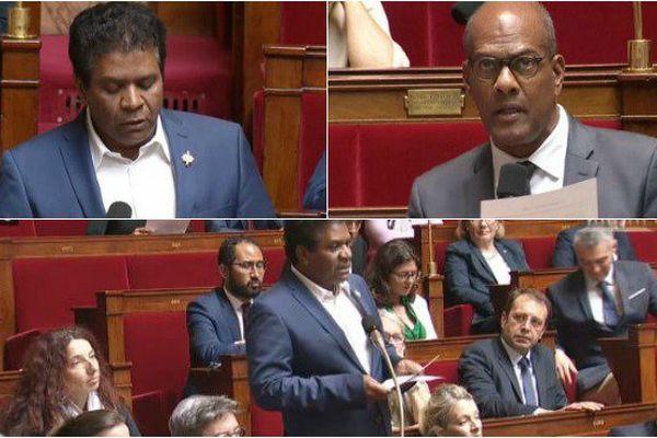 Les députés de La Réunion, Jean-Hugues Ratenon et de Martinique, Serge Letchimy, ont interpellé la ministre du travail, Muriel Pénicaud, ce mercredi 9 août, à l'Assemblée au sujet de la baisse annoncée des contrats aidés.