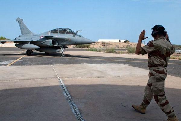 Rafale à Djibouti