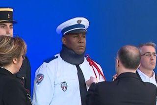 Kevin Philippy, le policier martiniquais décoré par Bernard Cazeneuve